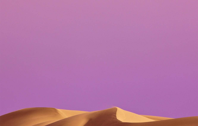 Photo wallpaper sand, the sky, the dunes, desert