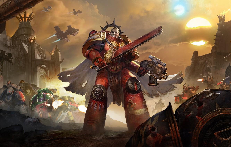Wallpaper Warhammer 40000 Space Marines Eternal Crusade