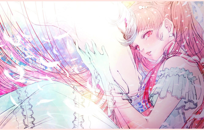 Photo wallpaper Pegasus, by kuroe, ChibiUsa, Seilor Moon