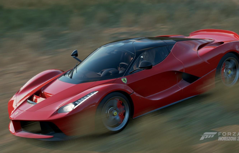 Wallpaper Ferrari Game Laferrari Forza Horizon 3 Images For Desktop Section игры Download