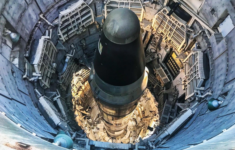 Photo wallpaper Air Force Facility Missile Site 8, Titan II ICBM Site 571-7, Titan Missile Museum