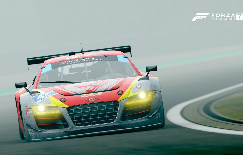 Photo wallpaper auto, Audi, Forza Motorsport 7