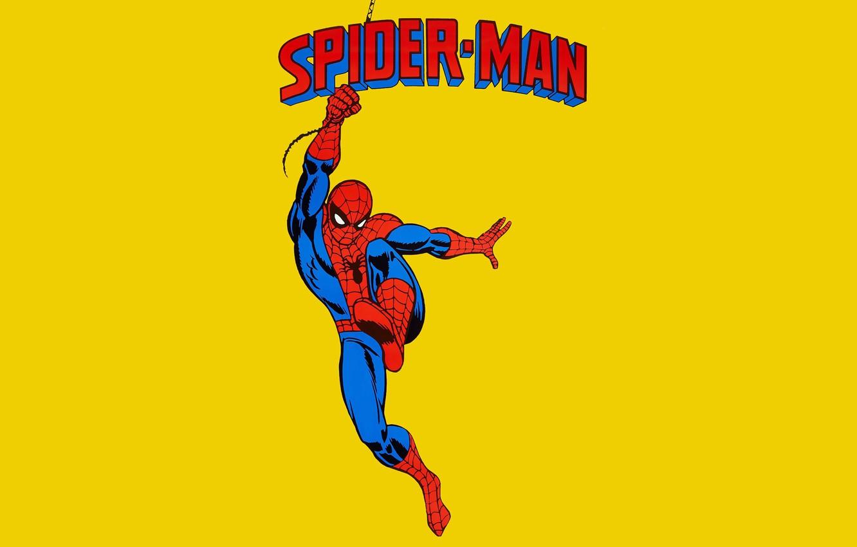 Photo wallpaper logo, comic, marvel, Marvel Comics, Spider-Man, Spider-Man