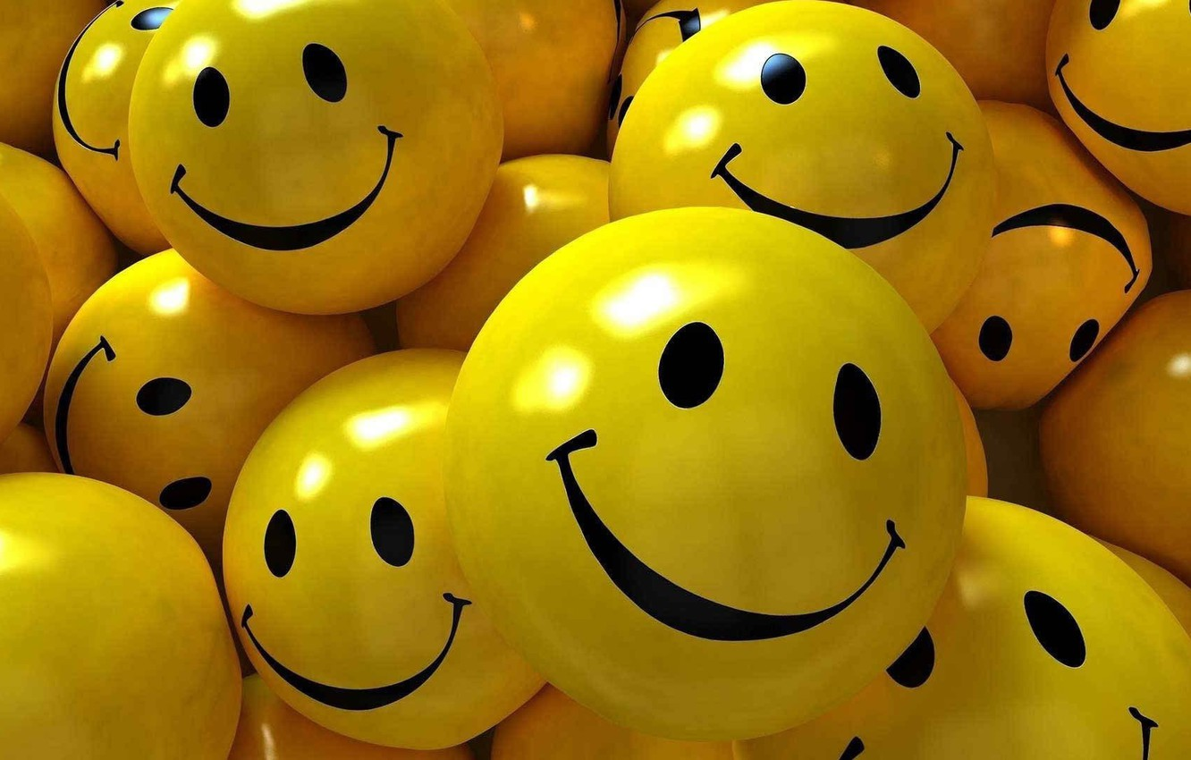 Photo wallpaper joy, background, mood, positive, faces, picture, smile, emoticons, reflections of light, light and shadow, yellow …