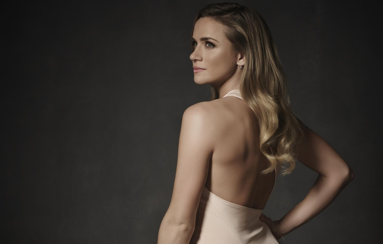 Wallpaper Girl Background Hair Back Shantel Vansanten