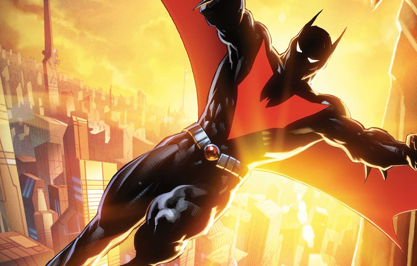 Photo wallpaper suit, Batman Beyond, Gotham City