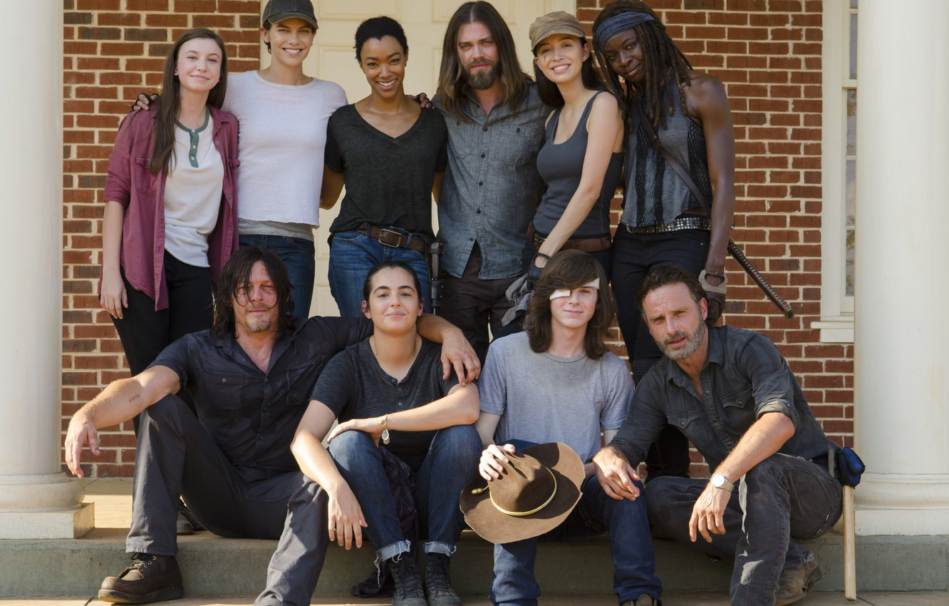 Wallpaper Team Actors The Walking Dead Season 7 Images For