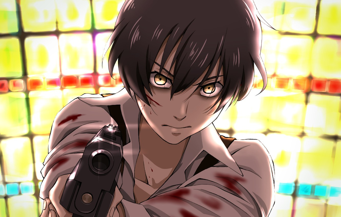 Photo wallpaper anime, art, guy, 91 Days, 91 days