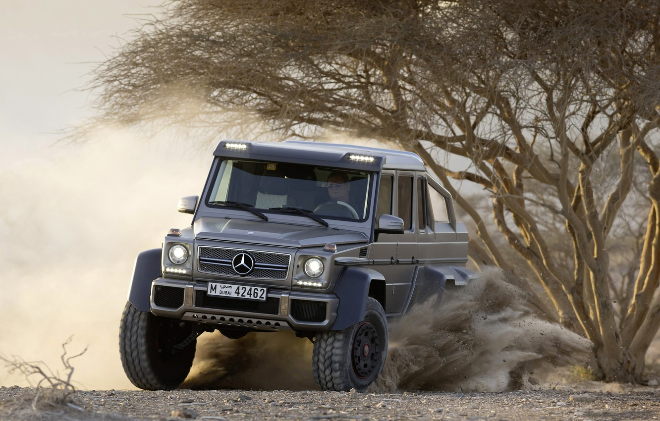 Photo wallpaper Mercedes-Benz, SUV, AMG, G 63