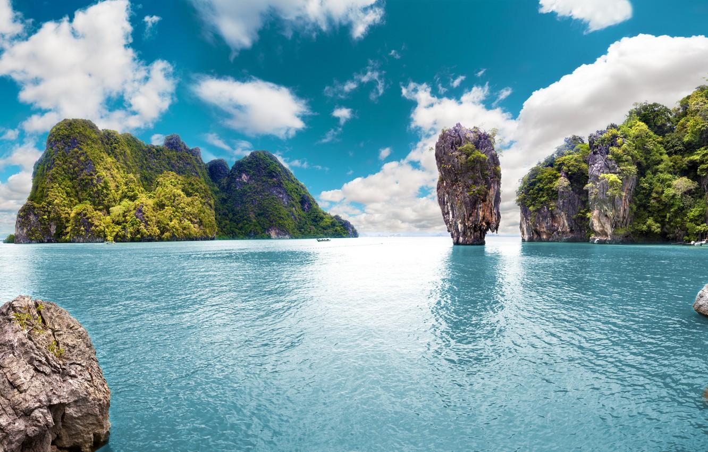 Wallpaper Sea Tropical Beach Island Summer Tropical Island The Azure Ocean Images For Desktop Section Pejzazhi Download