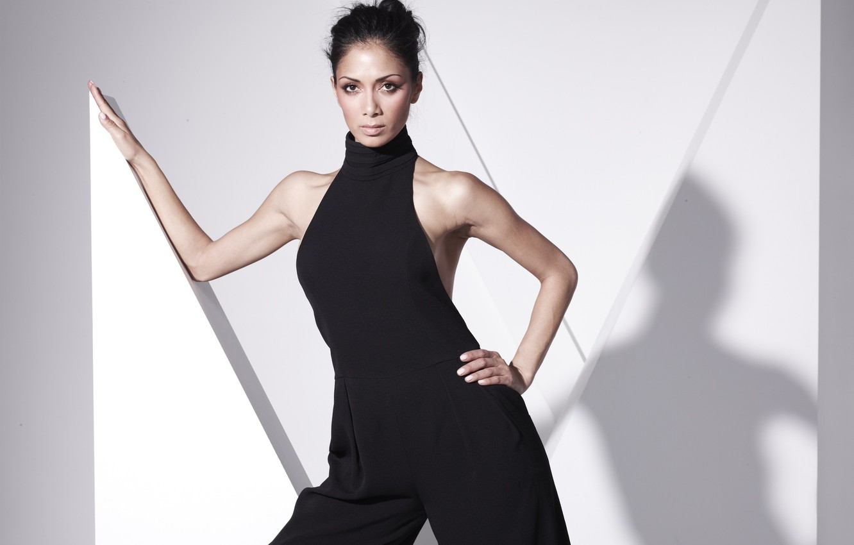 Photo wallpaper pose, Nicole Scherzinger, singer, namenitosti