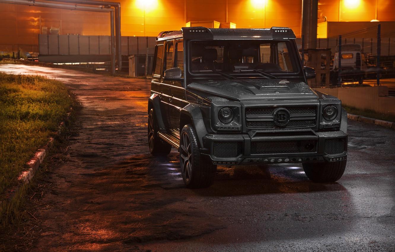 Photo wallpaper Mercedes, Carbon, AMG, Evening, G63, W463