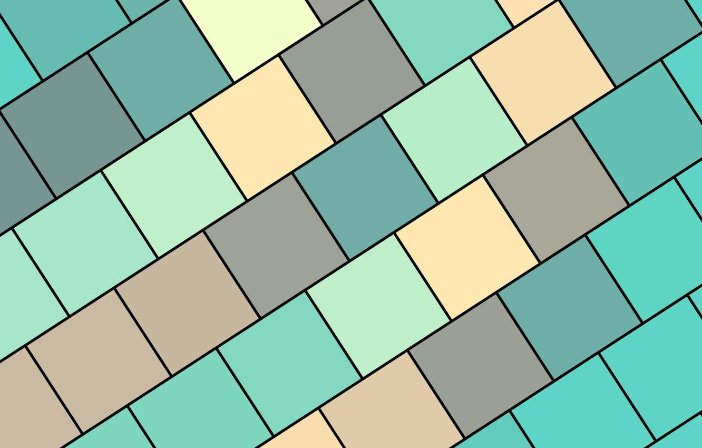 Photo wallpaper colors, squares, wallpaper, design, qhd-material