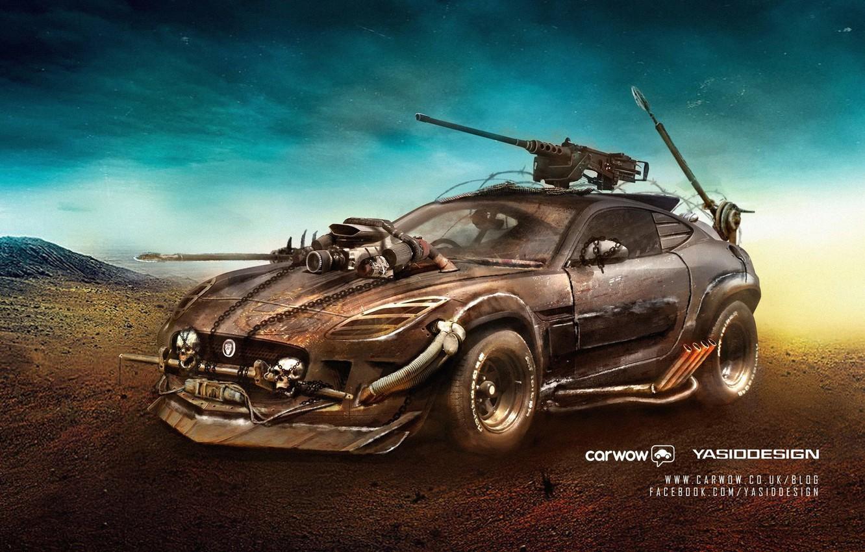 Photo wallpaper Auto, Tuning, Postapokalipsis, Car, Car, Auto, Tuning, Mad Max, Postapocalypse, Mad Max, Yasid Design, Yasid …