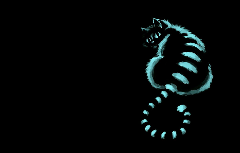 Photo wallpaper cat, mood, art, Cheshire cat