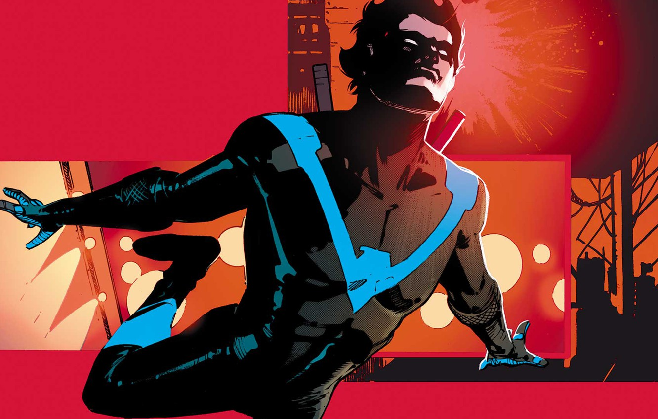 Photo wallpaper Robin, DC comics, Dick Grayson, Nightwing