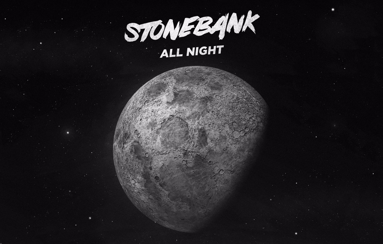 Photo wallpaper Music, Cover, Monstercat, Stone Bank, All Night
