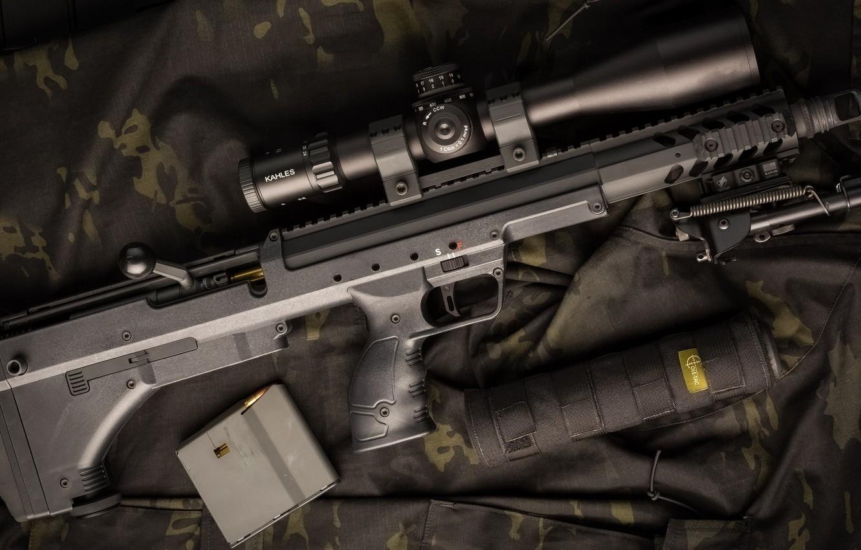 Photo wallpaper weapons, weapon, Sniper Rifle, sniper rifles, Desert Tech, CDS, Stealth Recon Scout, Desert Tech, DT …