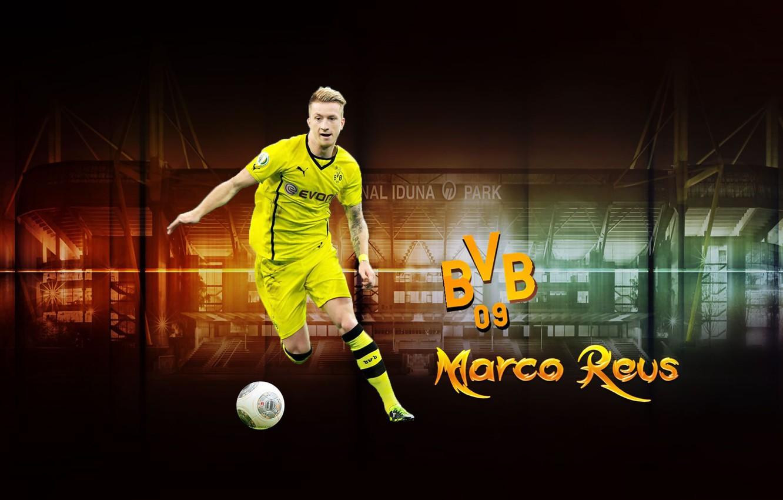 Wallpaper Wallpaper Sport Football Player Borussia Dortmund Marco Reus Signal Iduna Park Images For Desktop Section Sport Download