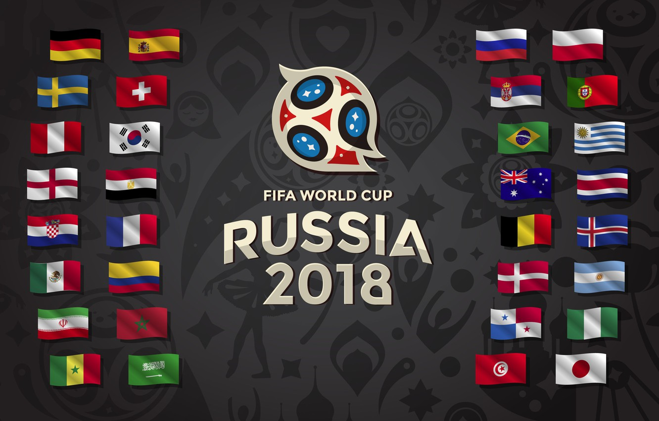 Wallpaper Sport Football Flags Russia 2018 Country