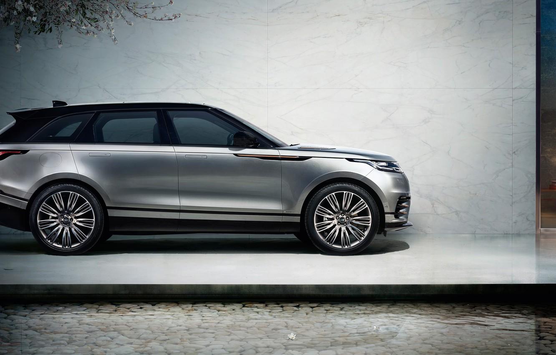 Photo wallpaper car, Land Rover, Range Rover, beautiful, strong, Velar, Range Rover Velar, Land Rover Velar