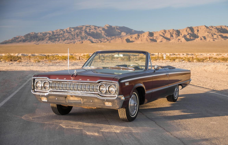 Photo wallpaper 1965, Convertible, 880, Dodge Custom
