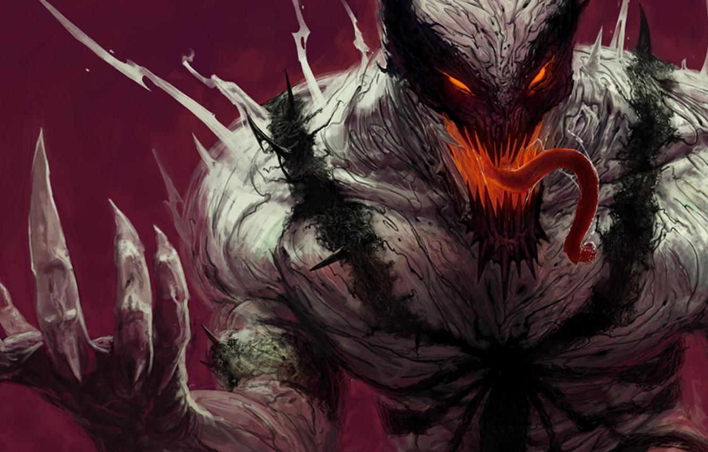 Photo wallpaper comics, Marvel, Anti-Venom, Anti-Venom, symbiote