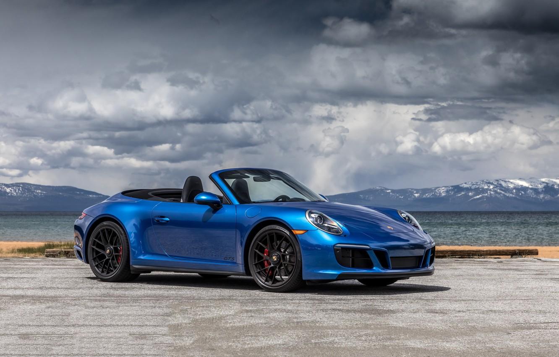 Photo wallpaper 911, Porsche, convertible, Porsche, Carrera, GTS, Cabriolet