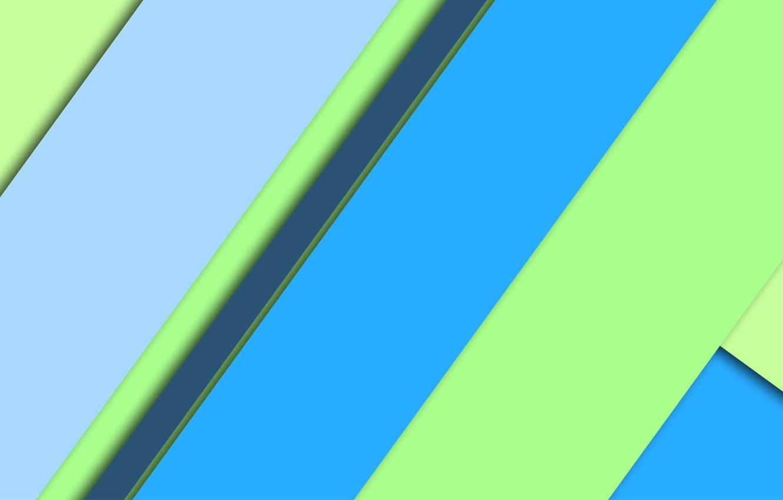Wallpaper Line Wallpaper Geometry Green Design Blue