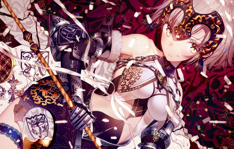 Photo wallpaper girl, anime, art, Fate Stay Night, fate/grand order