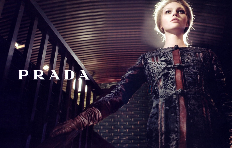 Photo wallpaper Pivovarova, prada, _fashion, photography_sasha