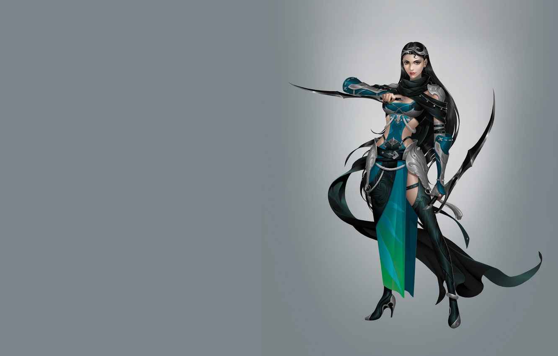 Photo wallpaper girl, the game, art, assassin, Hidden door knife, Hao hao, costume design