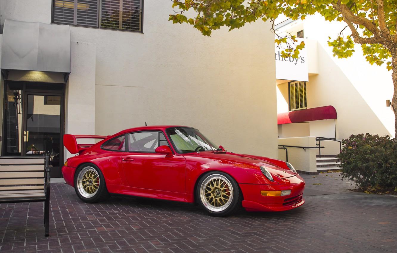 Photo wallpaper 911, Porsche, RSR, Cup, 1997, 3.8