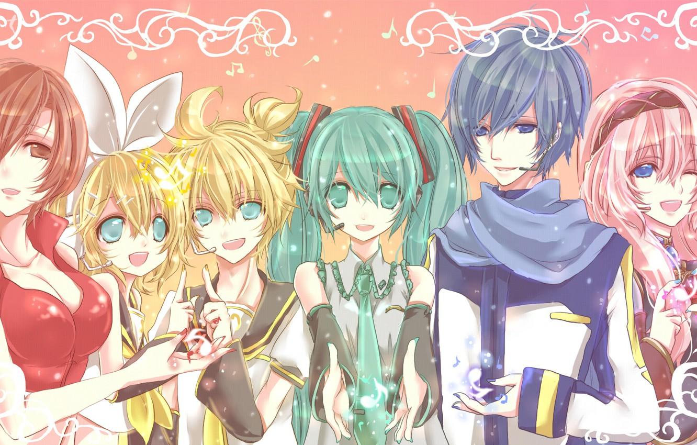 Wallpaper Anime Vocaloid Vocaloid Characters Images For Desktop
