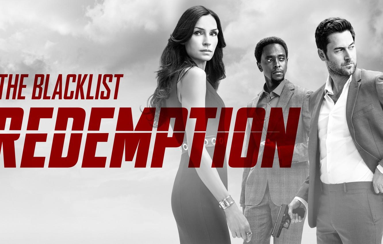 Photo wallpaper Famke Janssen, NBC, TV show, Ryan Eggold, The Blacklist Redemption, Edi Gathegi
