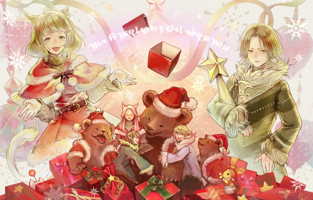 Ffxiv When Is Christmas 2021 Wallpaper Art Final Fantasy Xiv Christmas Images For Desktop Section Igry Download