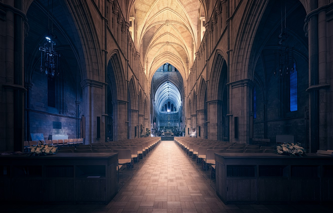 Photo wallpaper London, Echo of Darkness, Southwark Cathedral