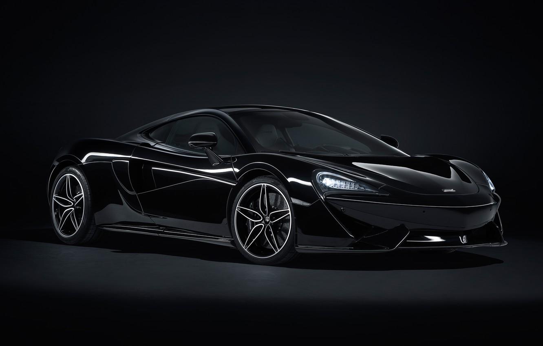 Photo wallpaper McLaren, supercar, 2018, MSO, 570GT, Black Collection