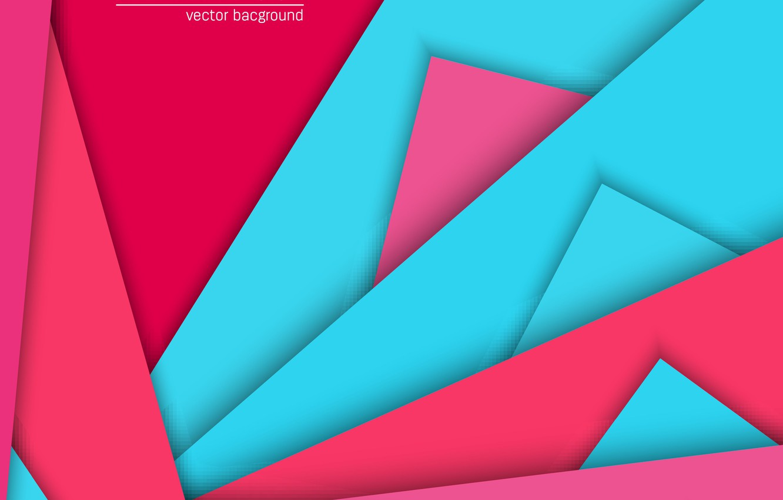 Wallpaper Abstract Red Geometry Design Pink Lines Background Material Light Blue Images For Desktop Section Abstrakcii Download