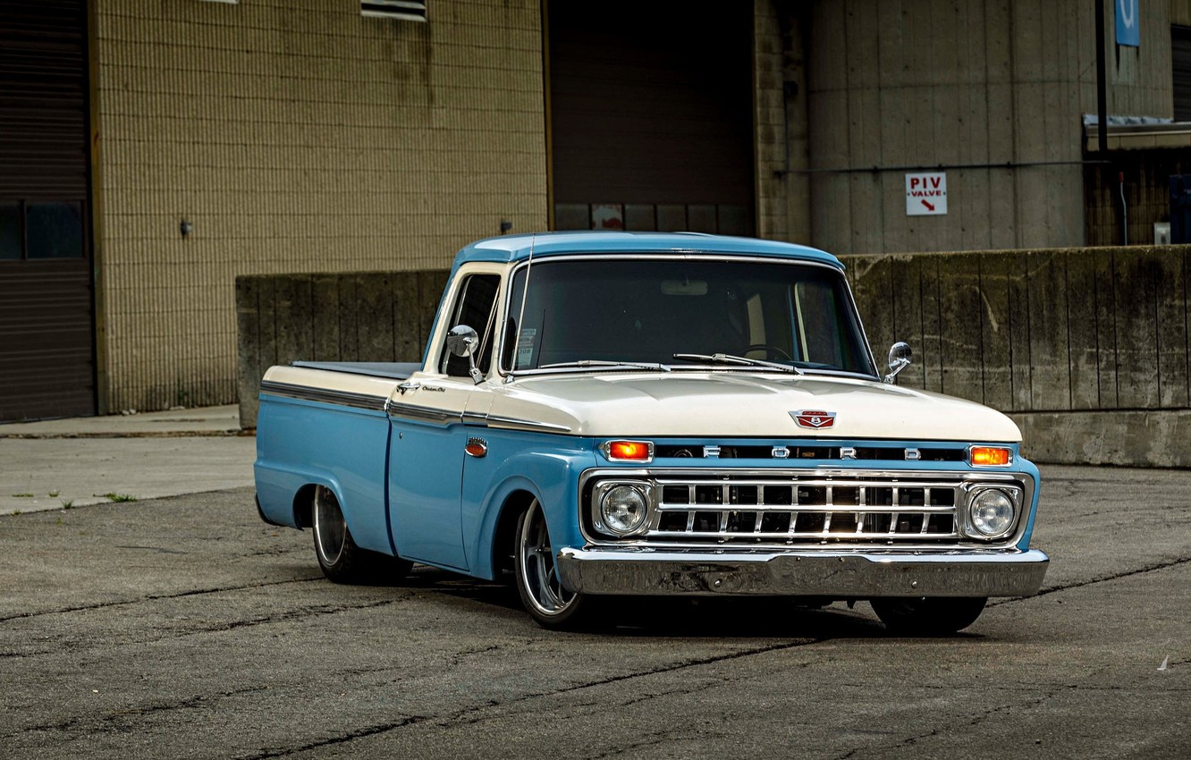 Photo wallpaper Ford, Wheels, F-100, ZX3P, Forgeline