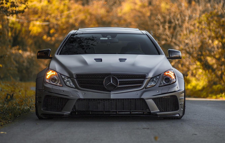 Photo wallpaper Coupe, E63, Mercedes - Benz, ///AMG