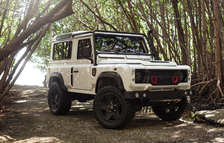 Photo wallpaper Land Rover, Design, Defender, Kahn, Full, WideBody