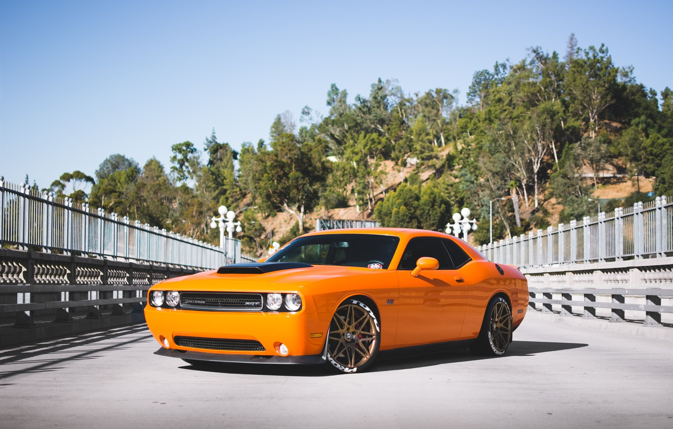 Photo wallpaper srt, dodge, challenger, 392, hemi
