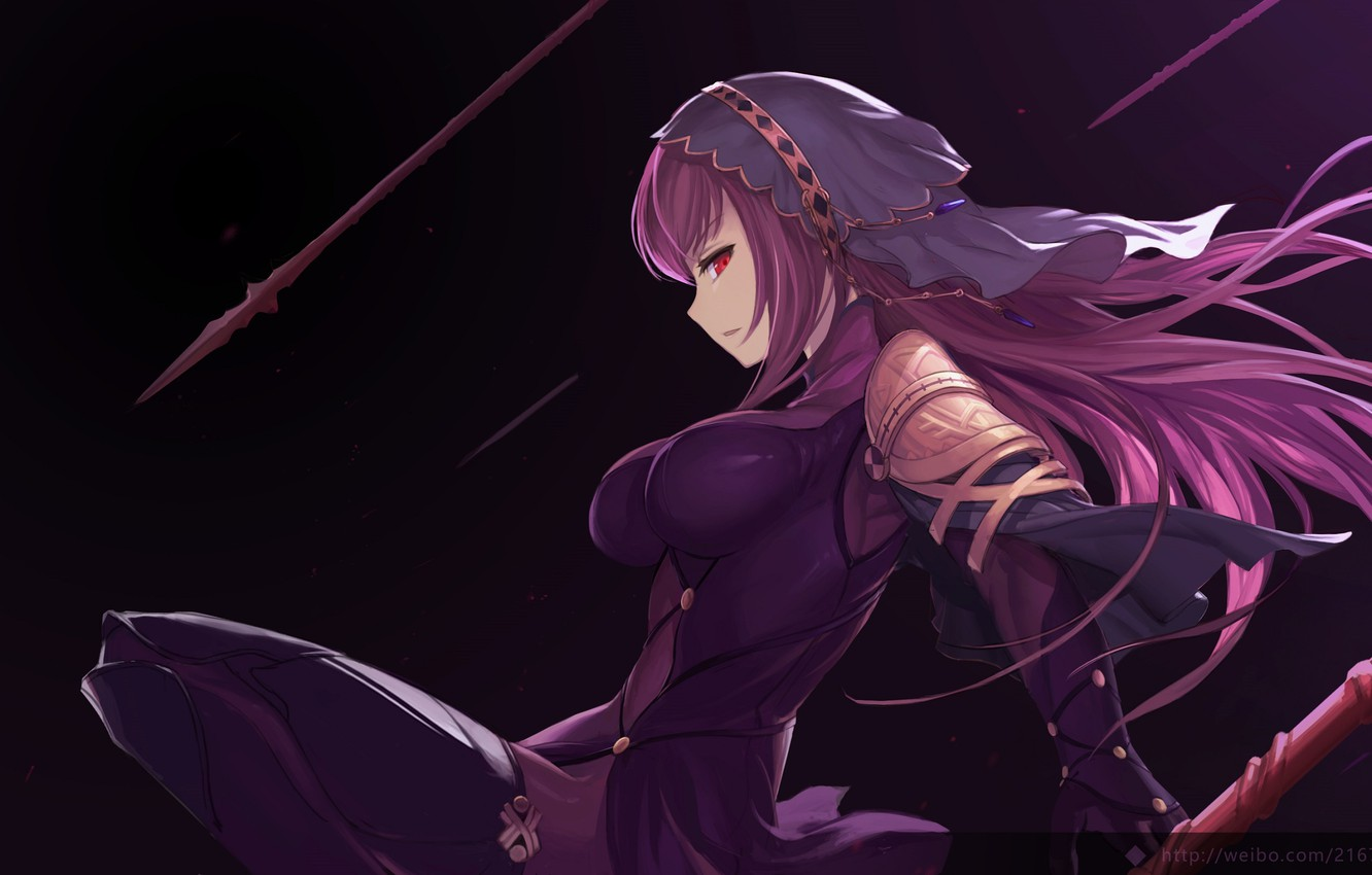 Photo wallpaper girl, weapons, spear, Fate / Grand Order, The destiny of a great campaign