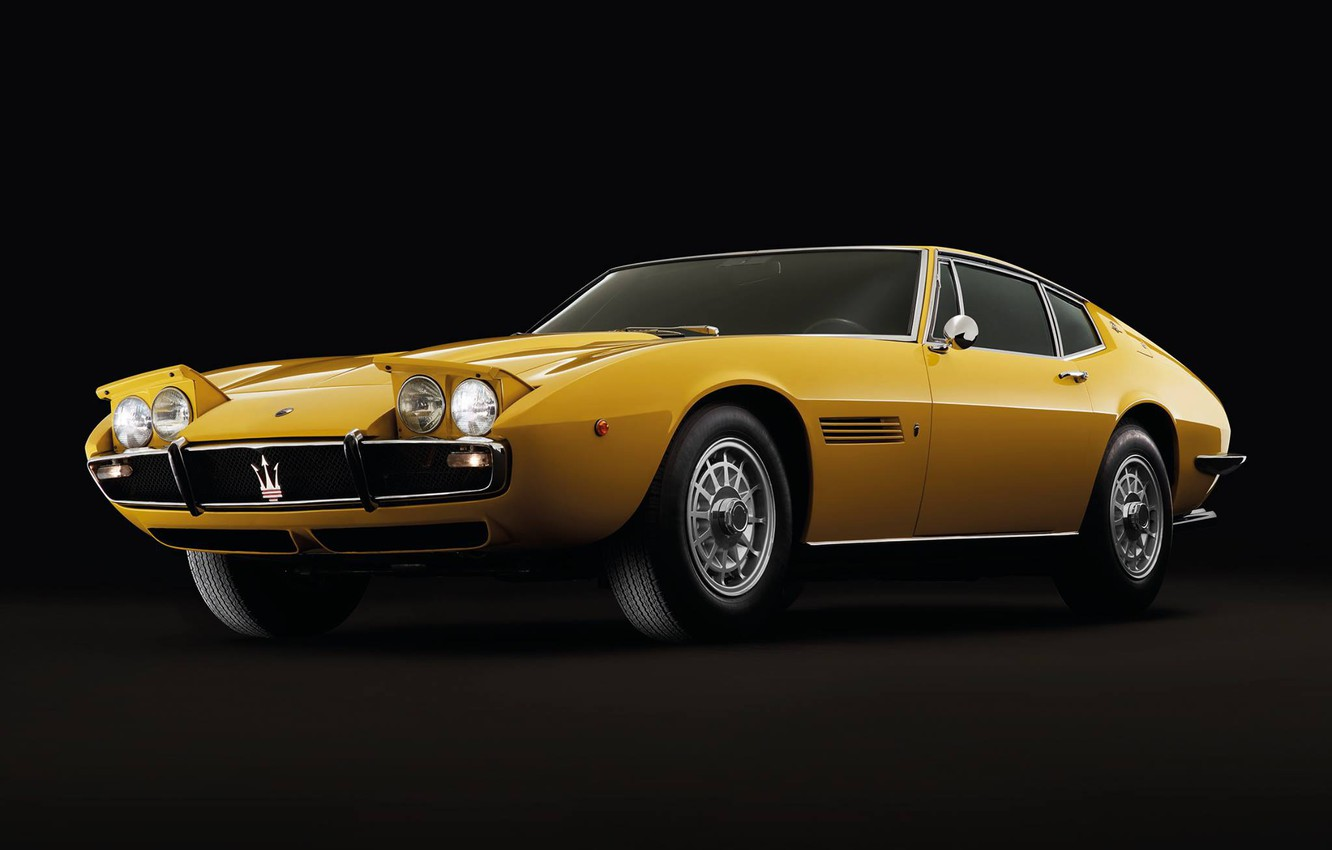 Photo wallpaper Maserati, 1967, Retro, Ghibli