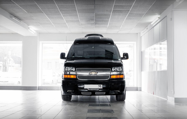 Photo wallpaper car, machine, auto, city, fog, race, Chevrolet, car, sports car, car, need for speed, cars, …
