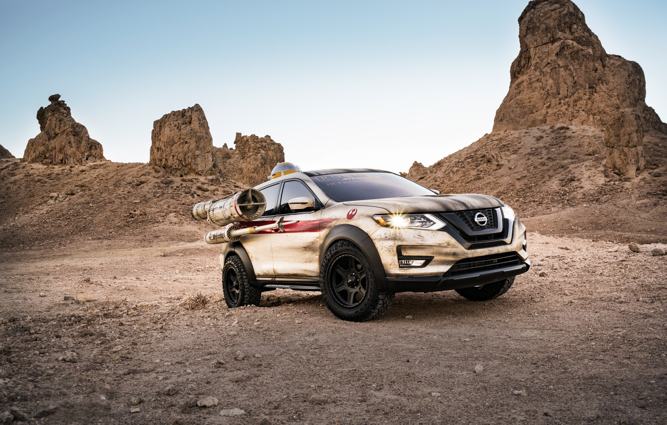 Photo wallpaper Star Wars, Nissan, Nissan, Rogue, krossver