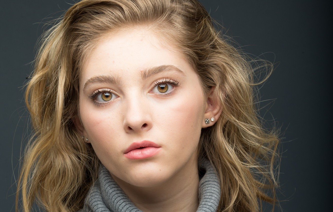 Photo wallpaper portrait, actress, Willow Shields