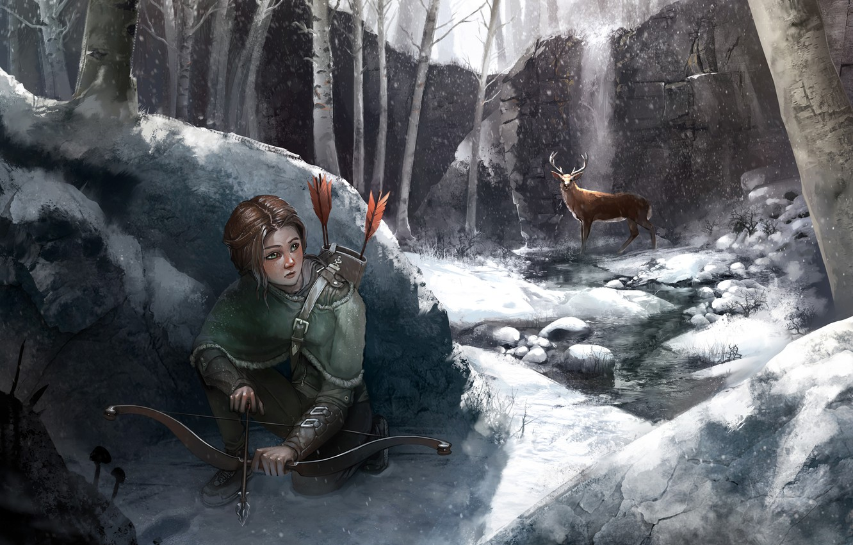 Wallpaper Ellie Art Art Game The Last Of Us Naughty Dog