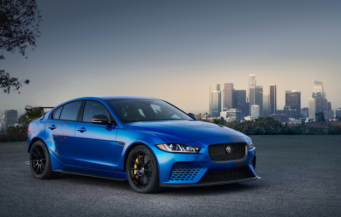Photo wallpaper Jaguar, Project